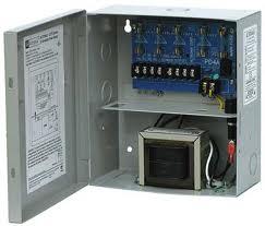 ALTV244UL- CCTV POWER SUPPLY, UL 4 OUTPUT 24VAC