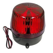 STL35R 6-12VDC STROBE LGHT RED