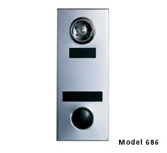 686102-UL1 DOOR CHIME-GOLD FIRE RATED