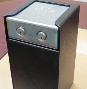 PV200M PERSONAL/PISTOL SAFE W/DUAL MEDECO LOCKS
