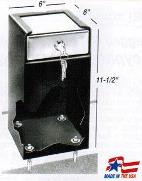PV100M SINGLE LOCK ROOM SAFE-W/MEDECO LOCK
