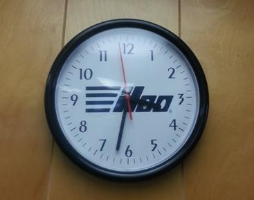 CLOCK      ILCO LOGO