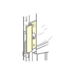 OLP2650-SL DOOR GUARD      (D)