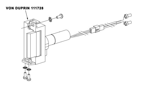 111728 STRIKE BODY FOR 6211WF 12VDC FSE