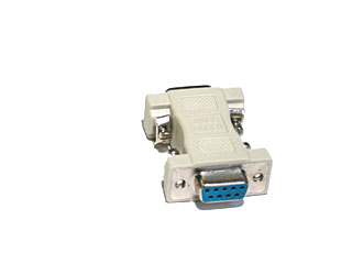 CTG-08075  -9 PIN TO NULL MODEM ADAPTER