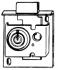 25389 MAILBOX LOCK - FLAT KEY