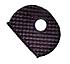 16520 IDKC-B50-BLACK K CAP 50/PK