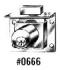"0666-26D 7/8"" LOCK"