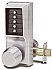 1011-26D-41 KNOB LOCK-NO KEY
