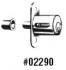 02290-4 7/8 SLIDING DOOR LOCK