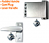 31619 DK BRZ LEVER HANDLE FOR NARROW STILE LATCH