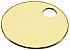 26011 (7007)BRASS TAG 1 1/8 100/