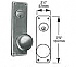 7825-WTB-26D DORMITORY MORTISE LOCK