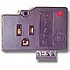 DTK-1F31X SNGL OUTLET W/IN/OUT
