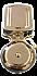 "174C 4"" BELL - BRASS FINISH  8-16VAC, 3-6VDC  (D)"