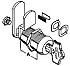 MFW29118 CAM LOCK KIT 1-1/8 DOUBLE SIDED KEY  (d)