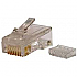 600 CATEGORY 6 MODULAR PLUG FOR CAT6 CAB (D)