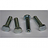 SN-134 ALUM SEX BOLTS (4/PK) 20-0040-0579-036