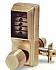 1011-5B-41 KNOB LOCK-NO KEY