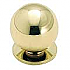 "830C-3 CABINET KNOB 1 1/8"" DIA WITH BACKPLATE (D)"