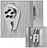 9190000-26D-41 (200NL CHROME) PUSHBUTTON LATCHLOCK