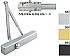 QDC111-690 DOOR CLOSER - DARK BRONZE