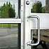 1001 DOOR GUARD ALUMINUM 82""