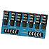 RB7- SENSITIVE RELAY MODULE, 12/24VDC, 7 OUTPUTS