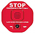 STI-6400 EXIT STOPPER, RED