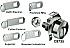 C8735-14A MAILBOX LOCK W/ 5 CAMS OS