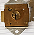 "582X 1/4"" NOSE LOCKER LOCK (D)"
