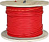 FPL1802R RED 500' SPOOL 18/2 FIRE RATED