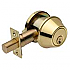 D130-605 SC1 SINGLE DEADBOLT 6 WAY ADJ BOLT