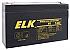 ELK0675 6V 7.5 AH BATTERY  (replaces elk670)