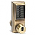 1021M-05-41 PUSHBUTTON LOCK w/MED/YALE BYPASS (d)