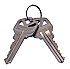 81389-001 SET OF 2 CUT KEYS - 6 PIN