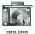 "C8133-26D 7/8"" DRAWER LOCK"